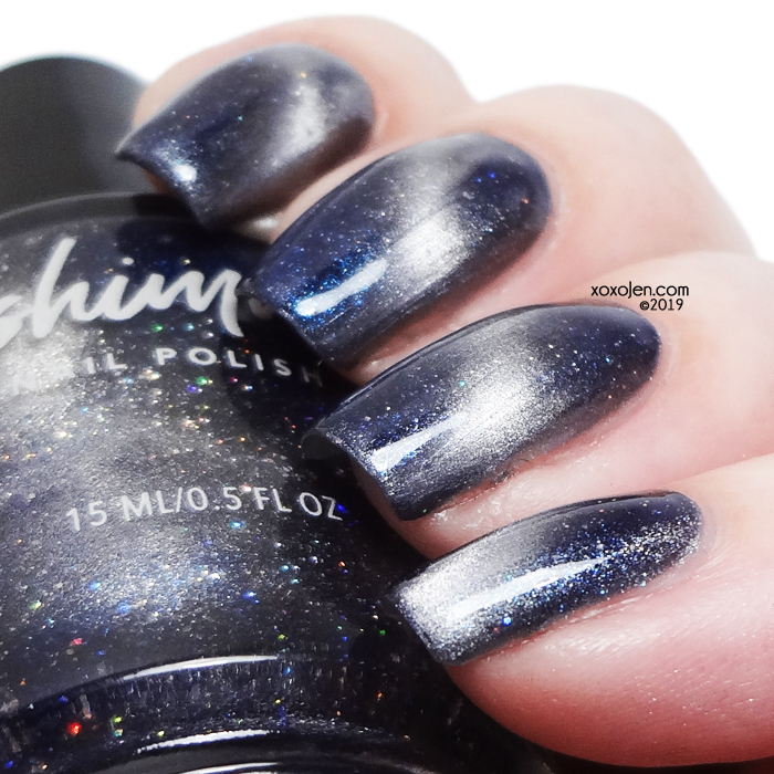 xoxoJen's swatch of KBShimmer I Need Space
