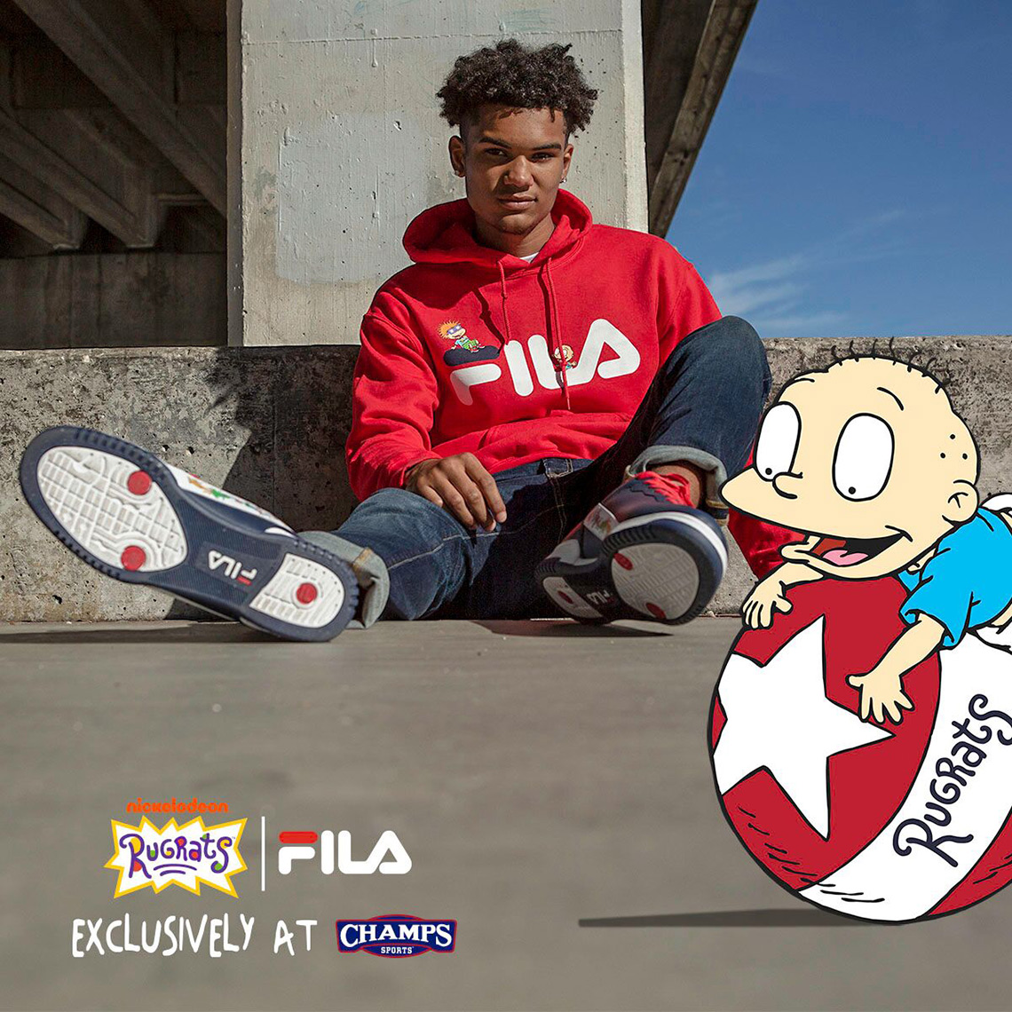 40e8803ebf7 Check out the FILA x Rugrats collection (including photos from the line s  lookbook) below!