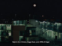 Night-time inside No.1 Division, Boggo Road Gaol, Brisbane, 1990s.