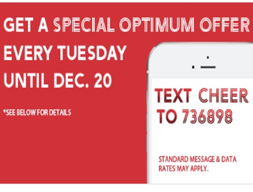 Shoppers Drug Mart Special Holiday Optimum Offers