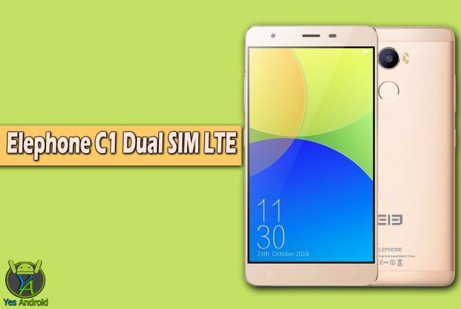 Elephone C1 Dual SIM LTE Full Specs Datasheet
