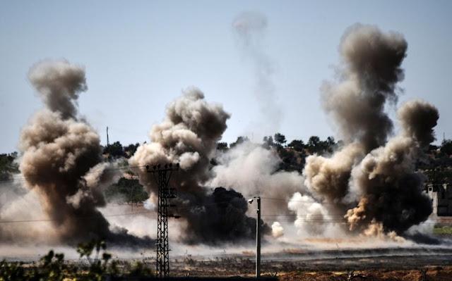 Στόχος, οι Κούρδοι και όχι το ISIS