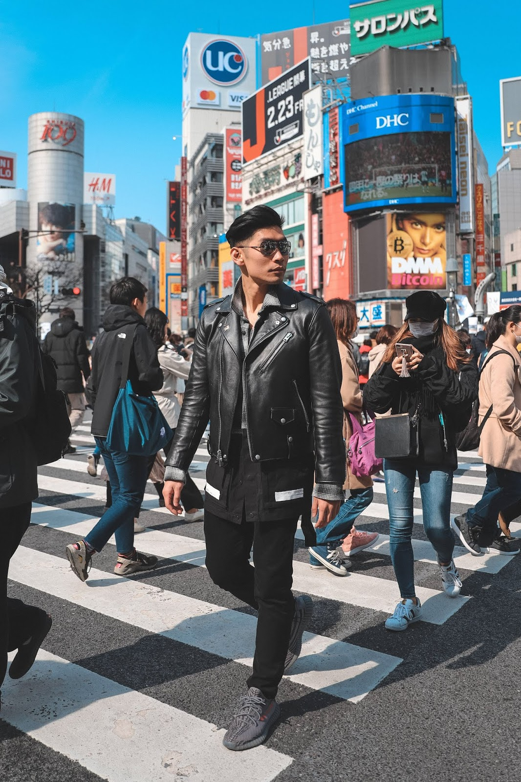 Leo Chan at Shibuya Crossing Tokyo, Japan
