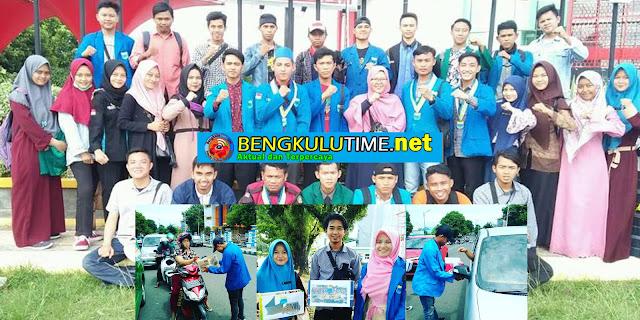 Bengkulutime.net, Kota Bengkulu - Sejumlah aktivis Pergerakan Mahasiswa Islam Indonesia (PMII) Bengkulu melakukan aksi penggalangan dana untuk korban tsunami di Lampung dan Banten
