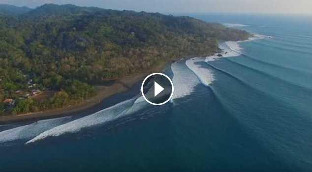 Pavones Aerial Footage