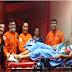 A PEQUENA SARAH NASCE DENTRO DA VIATURA DOS BOMBEIROS A CAMINHO DO HOSPITAL