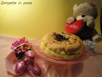 Torta con crema al limone senza latte - Torta soffice