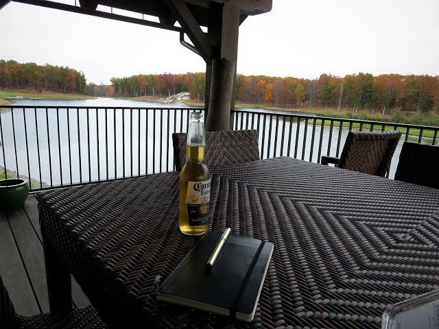 Corona on the lake