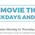 Bookmyshow Weekday Offer - Get Rs.100 off on Movie Tickets