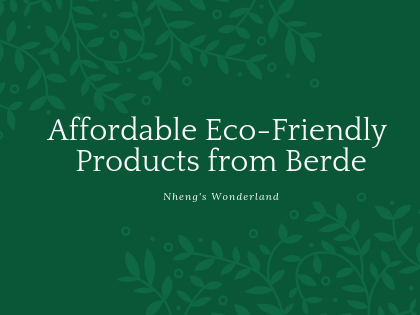 Affordable Eco-Friendly Products from Berde