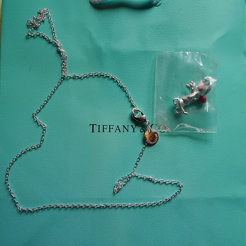 Fake Tiffany Trinket from China