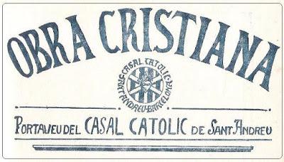 Obra Cristiana nº 92, Marzo de 1930, portada