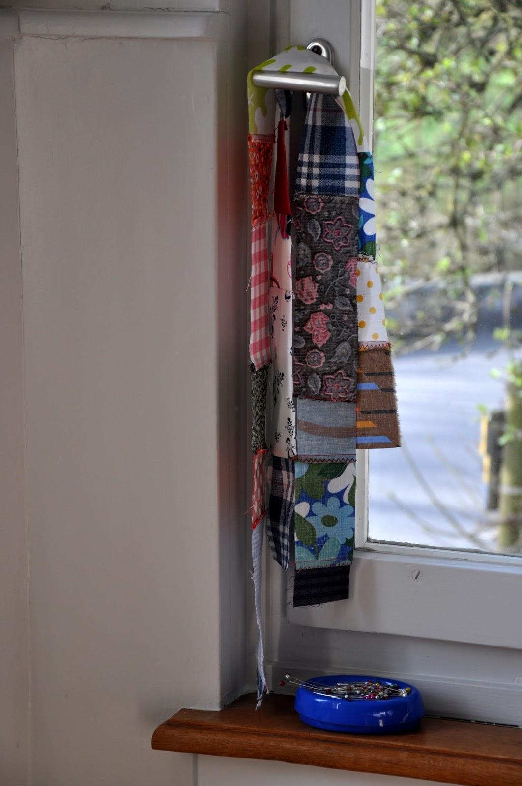 bin im garten patchworkbettw sche. Black Bedroom Furniture Sets. Home Design Ideas