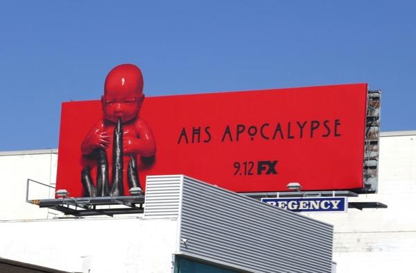 AHS Apocalypse billboard