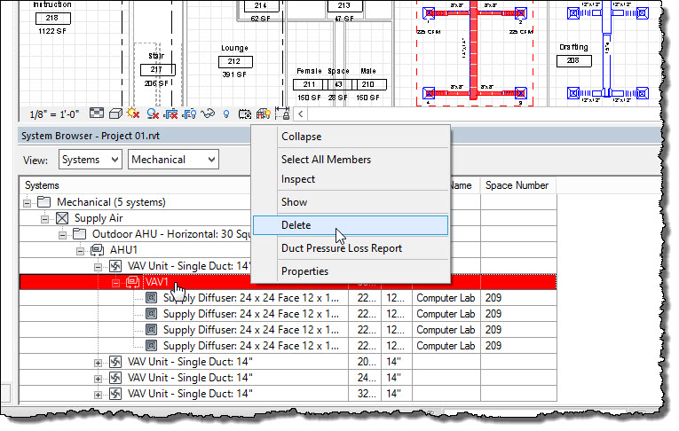 Revit OpEd: Revit MEP System Browser - Systems and Families