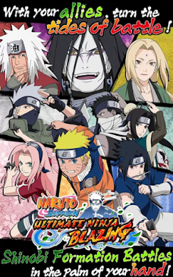 Download Ultimate Ninja Blazing v1.5.8 Mod Apk Terbaru High Damage (update)