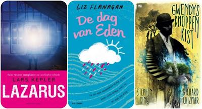 Lars Kepler, Liz Flanagan, Stephen King, Cargo, THB, Gottmer
