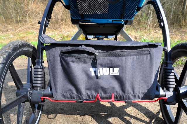Wózek do biegania z dzieckiem