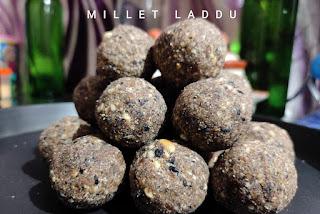 how to make millet laddu