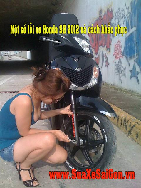 Cần lưu ý một số lỗi của xe Honda Sh 2012