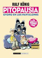 Ralf König, con libro nuevo bajo el brazo: Pitopausia