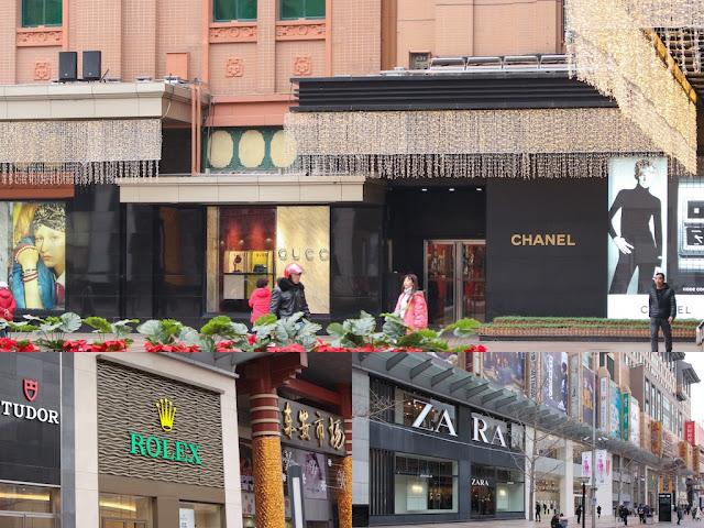 toko branded di wangfujing