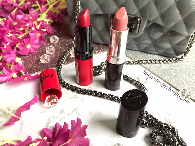 Rimmel lasting finish by kate moss (107) & lasting finish lipstick (077 Asia) REVIEW