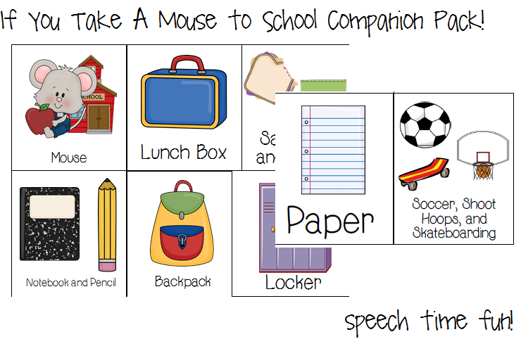 Printables If You Take A Mouse To School Worksheets if you take a mouse to school companion pack
