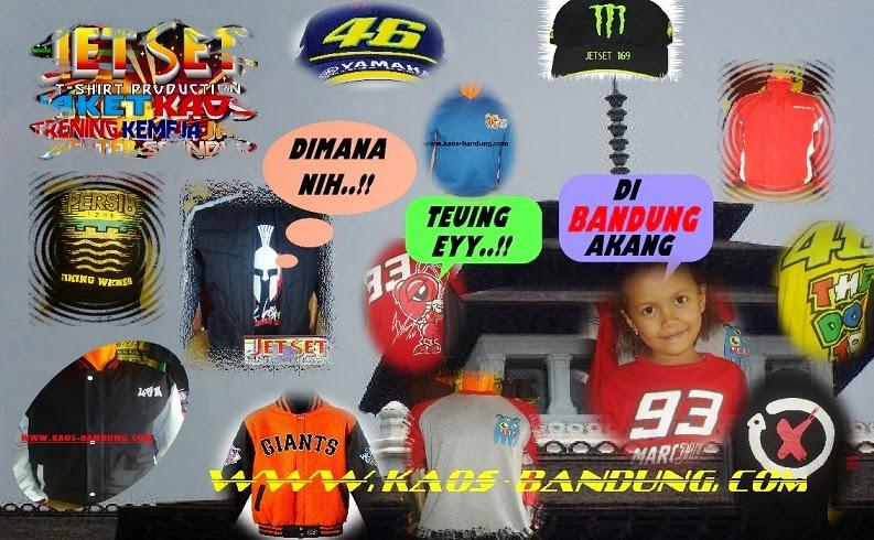 Bikin Kaos Baju Jaket Kemeja Sweater Topi Bandung ONLINE