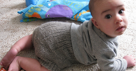 Frugal Diapering: Free Baby Bum Sweater (Diaper Cover)