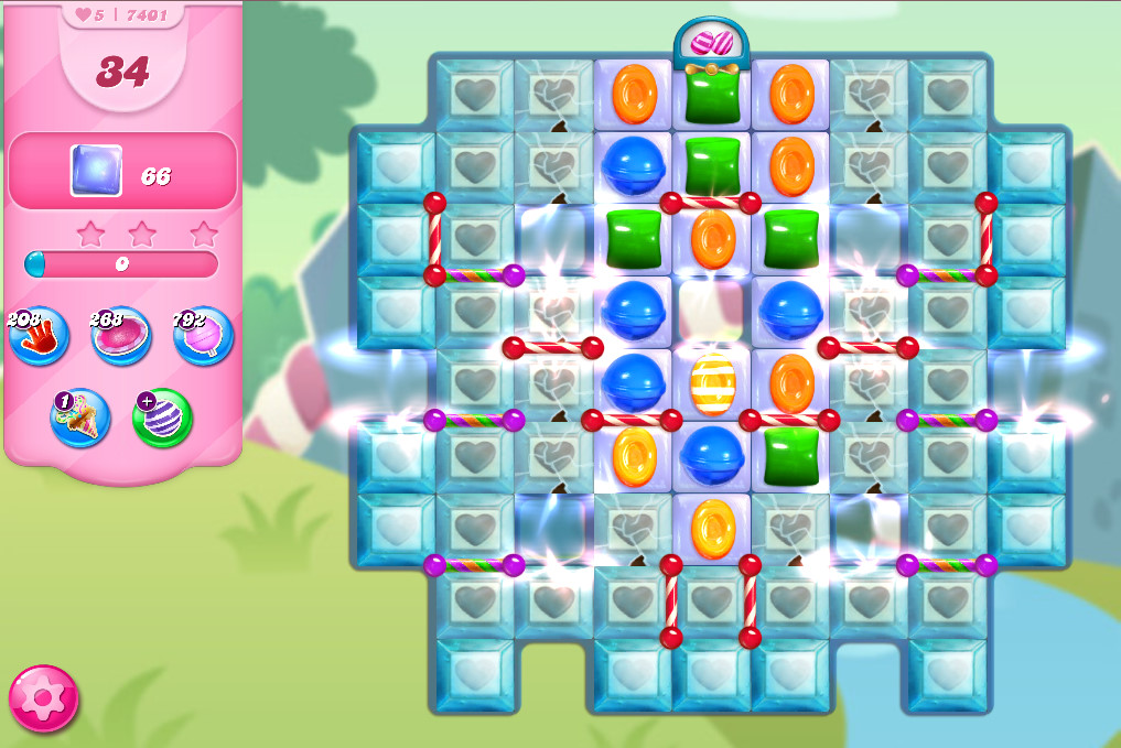 Candy Crush Saga level 7401