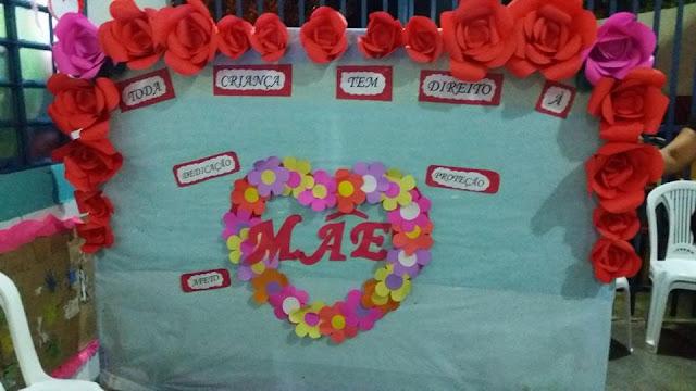 Dia das Mães Murais Decorativos Lindíssimos