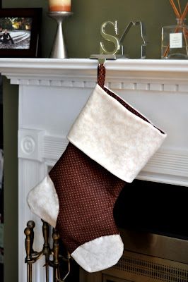 Stephen's Christmas Stocking - Photo by Taste As You Go