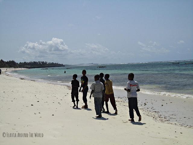 Playa de Tiwi, Kenia