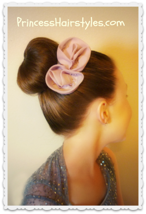 How to make a sock bun / donut bun video tutorial