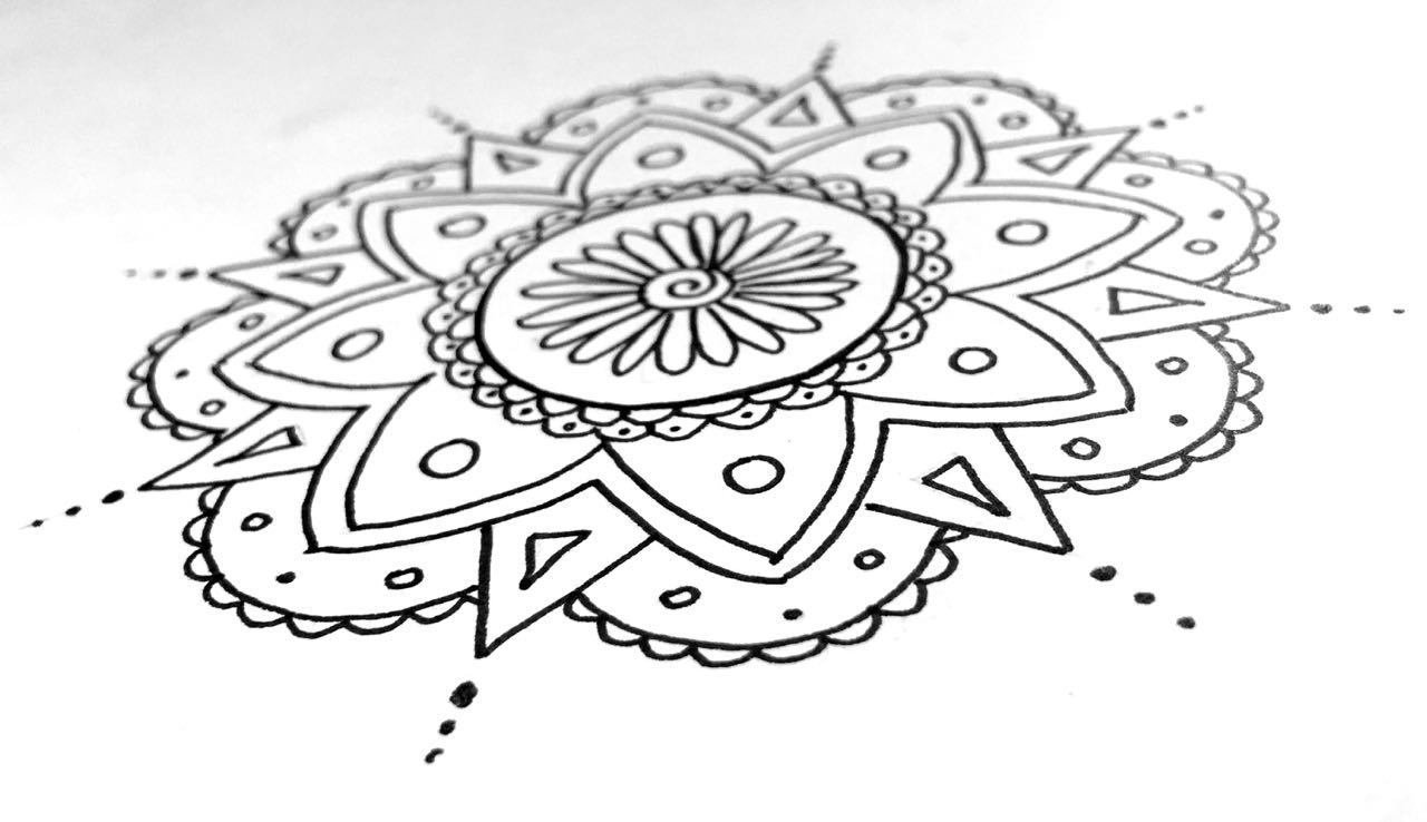 Learn To Draw A Mandala My New Follow Along Tutorial For The Very