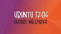 Wallpaper oficial de Ubuntu Zesty Zapus