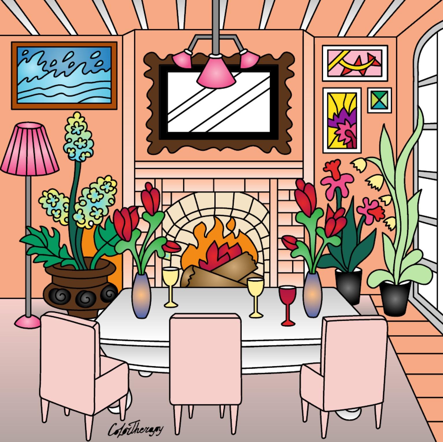 Olistica e dintorni colori per la casa for Colori per la casa