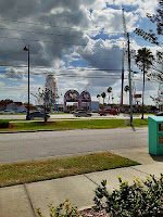 The sign from the Old Town shopping district in Kissimmee, Florida