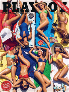 Revista Playboy USA-Julio Agosto 2015 PDF Digital