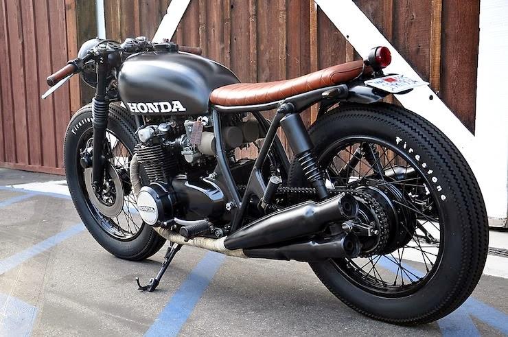 Honda Cbk Cbk Cafe Racer