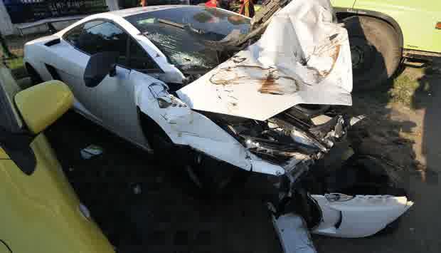 kecelakaan maut ronaldo