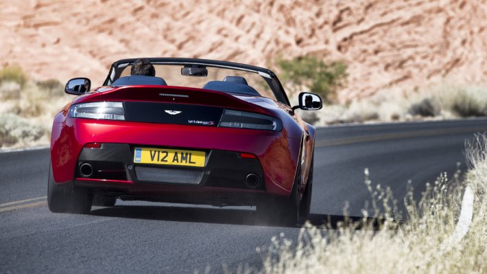 Wallpaper 4: Aston Martin V12 Vantage S Roadster