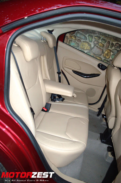 Ford Figo Aspire India Interiors