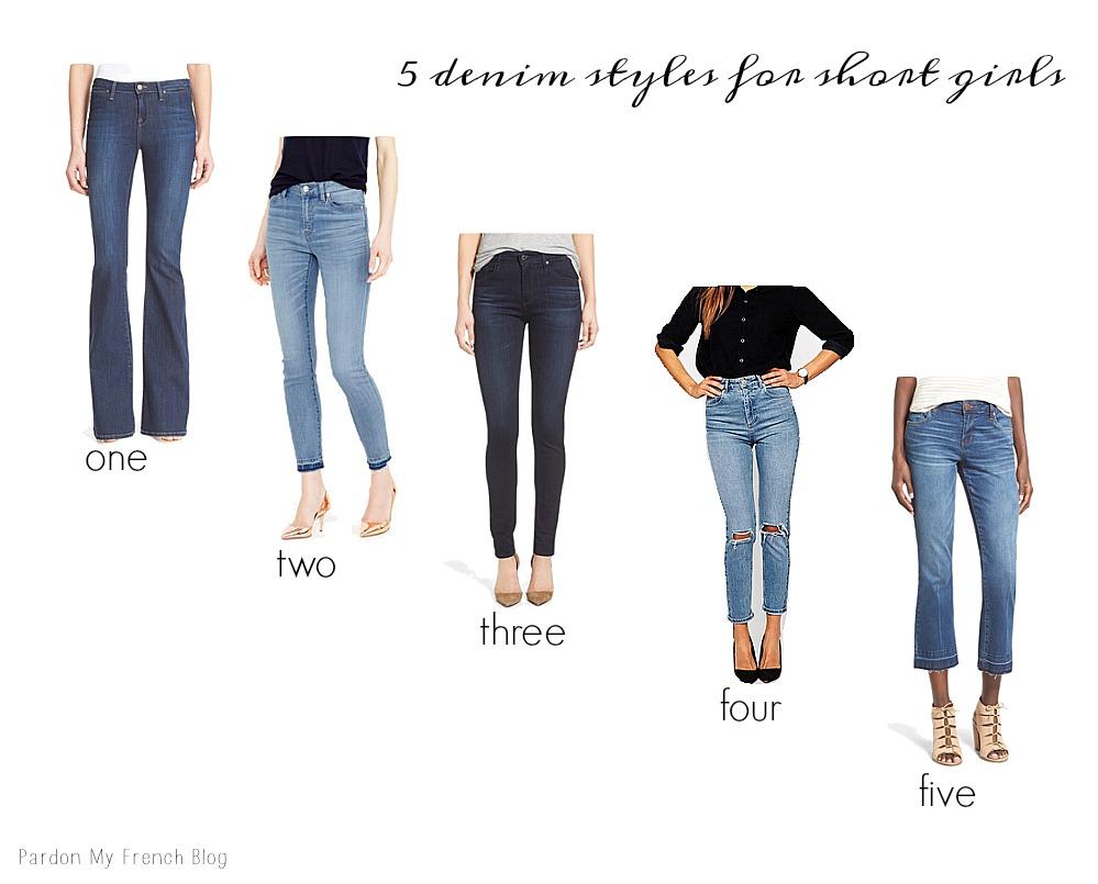 5 Denim Styles For Short Girls Pardon My French