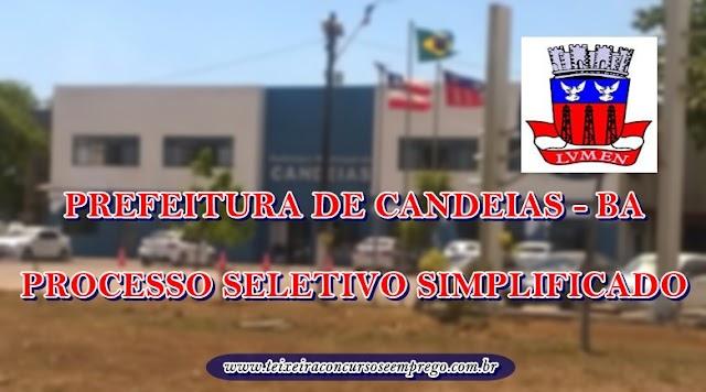 Prefeitura de Candeias - BA abre processo seletivo para no Hospital Municipal
