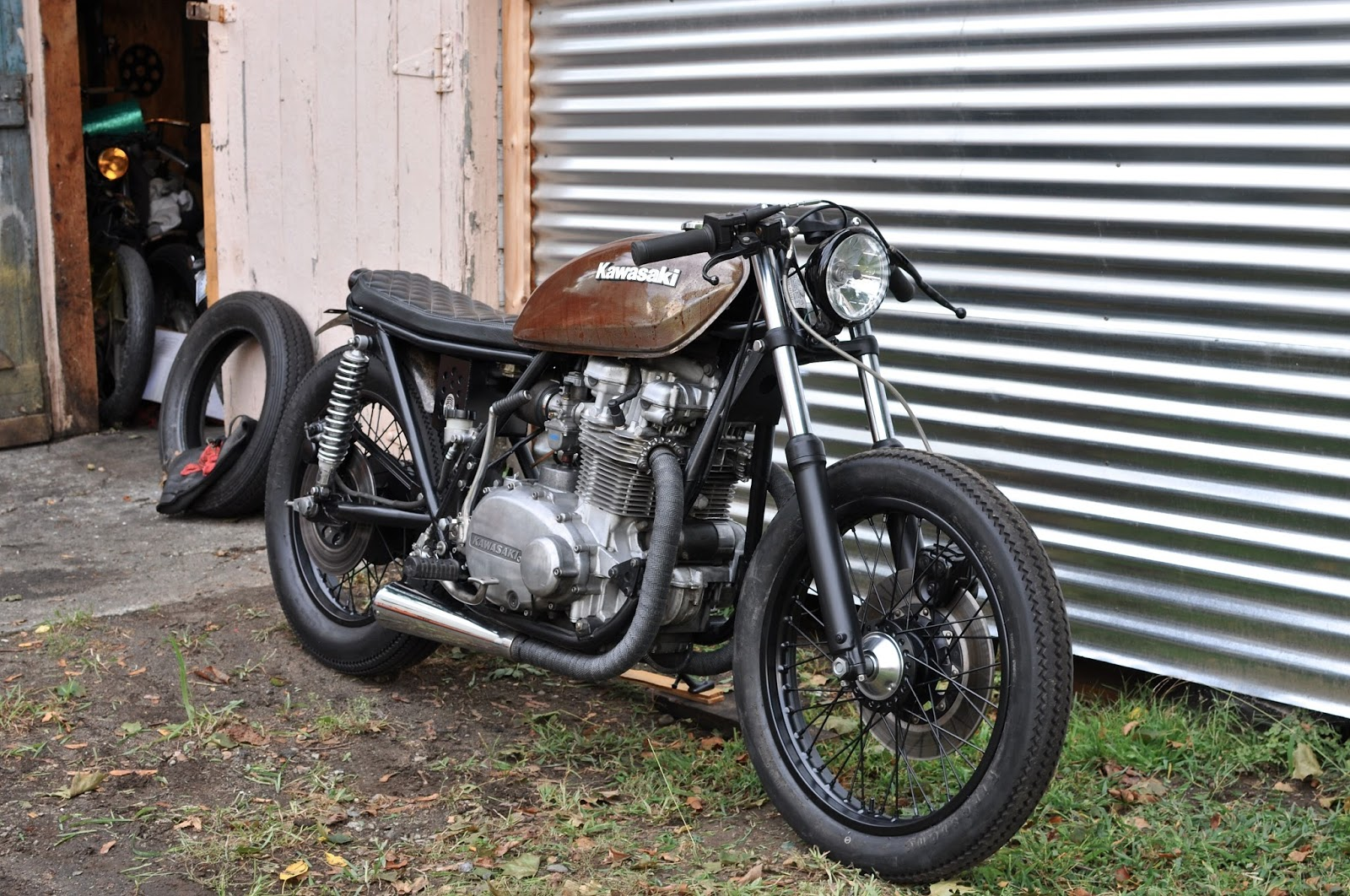 Kawasaki Kzmotorcycle