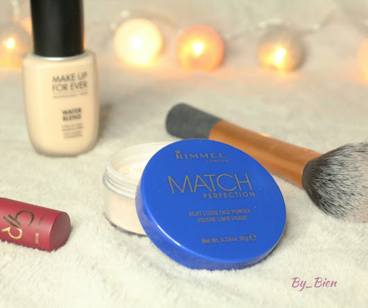 Puder RIMMEL MATCH PERFECTION - recenzja