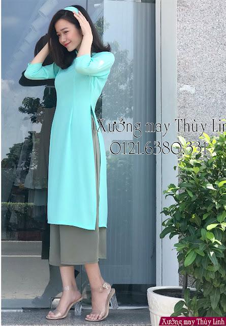 Cách phối hợp áo dài cách tân với trang phục hiện đại