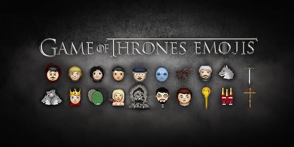 Gallery of Game of Thrones Emoji